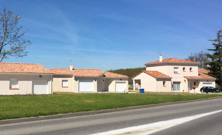 Lotissement de maisons individuelles