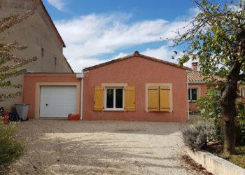 Extension de maison traditionnelle finie